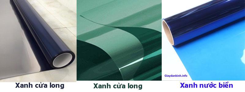 giấy dán kính một chiều có những màu nào